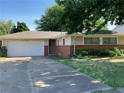 Midwest City Single Family Home For Sale: 433 W Ercoupe Drive