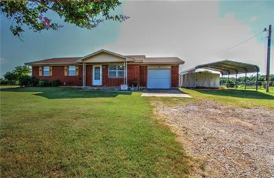 Blanchard OK Single Family Home For Sale: $95,000