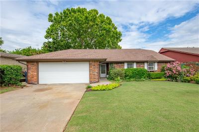 Oklahoma City Single Family Home For Sale: 10217 Island View Drive