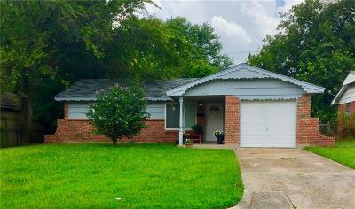Midwest City Single Family Home For Sale: 3909 Parkwoods Lane