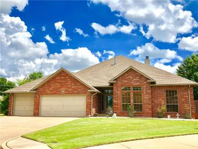 Moore Single Family Home For Sale: 601 Oak Creek Drive