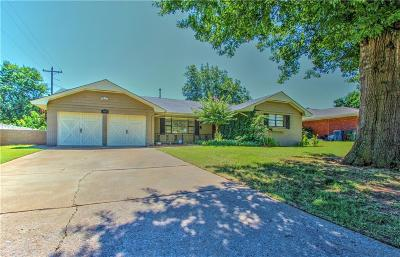 Midwest City Single Family Home For Sale: 3604 Oakhurst Drive