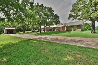 Noble Single Family Home For Sale: 12300 E Post Oak Road
