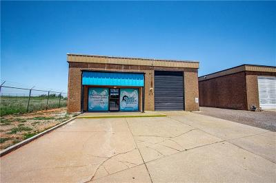 Elk City Commercial For Sale: 1325 Airport Industrial