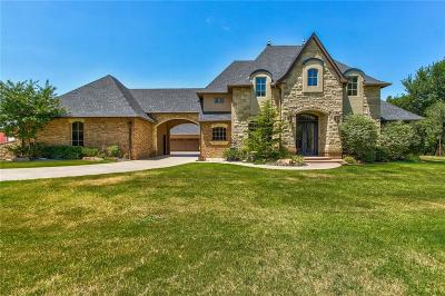 Blanchard OK Single Family Home For Sale: $699,900