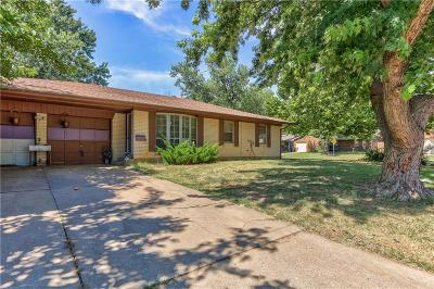 Midwest City Single Family Home For Sale: 601 Royal Avenue