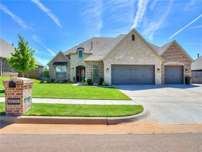 Edmond Single Family Home For Sale: 15908 Dayflower Lane