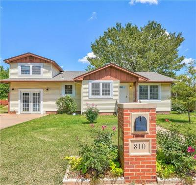 Purcell Single Family Home For Sale: 810 N Santa Fe Avenue