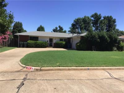 Midwest City Single Family Home For Sale: 103 Cherrywood Drive