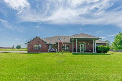 Blanchard OK Single Family Home For Sale: $229,500