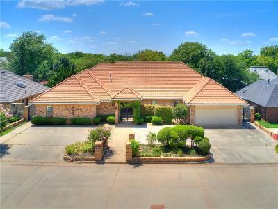 Oklahoma City Single Family Home For Sale: 12505 Deerwood Drive