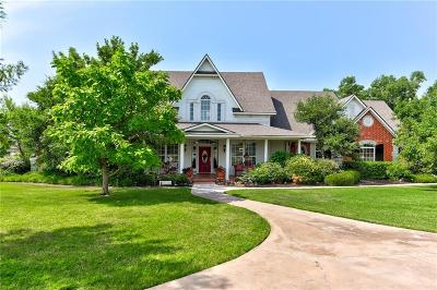 Edmond Single Family Home For Sale: 17525 Old Pond Road