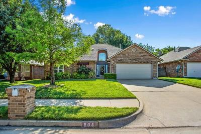 Edmond Single Family Home For Sale: 604 Fox Hunt Lane