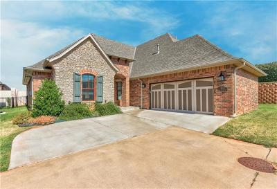 Edmond Single Family Home For Sale: 1013 Villas Creek Drive