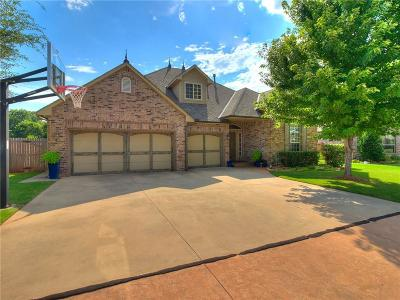 Edmond Single Family Home For Sale: 19805 Oakshire Drive