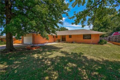 Midwest City Single Family Home For Sale: 3602 Bella Vista Drive