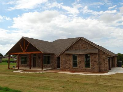 Blanchard OK Single Family Home For Sale: $243,000