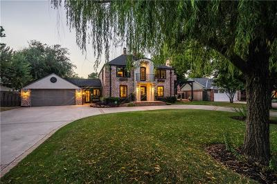 Nichols Hills OK Single Family Home For Sale: $1,350,000