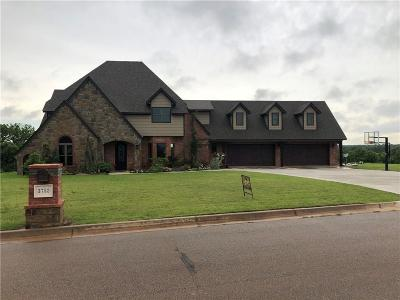 Blanchard OK Single Family Home For Sale: $550,000