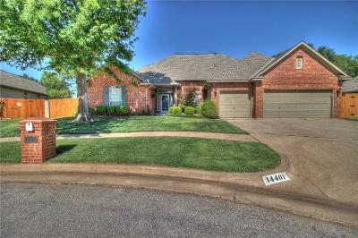 Edmond Single Family Home For Sale: 14401 Lamplight Lane