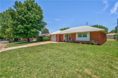 Midwest City Single Family Home For Sale: 1201 W Woodlane Drive