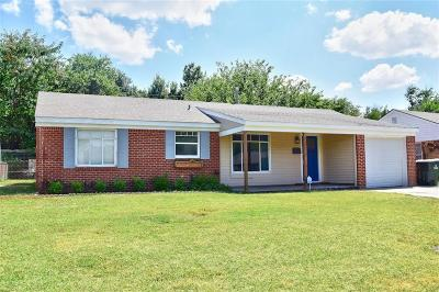 Oklahoma City Single Family Home For Sale: 1708 Carlisle Road