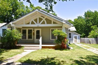 Guthrie Single Family Home For Sale: 1808 W Cleveland Avenue