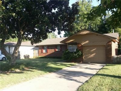 Bethany Single Family Home For Sale: 6602 NW 29th Ter Terrace