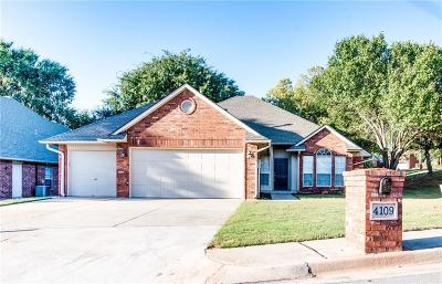 Edmond Single Family Home For Sale: 4109 Eaton Place