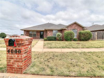 Oklahoma City Single Family Home For Sale: 4000 Hunterfield Avenue