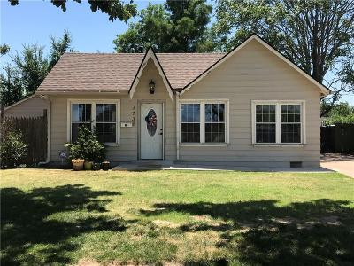 Oklahoma City Single Family Home For Sale: 3736 NW 12th Street