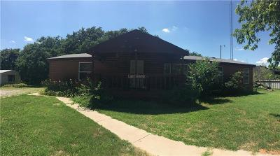 Fort Cobb Single Family Home For Sale: 1 Violet Street
