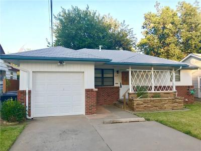 Oklahoma City Single Family Home For Sale: 2836 N Geraldine Avenue