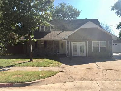Norman Single Family Home For Sale: 1717 Sunrise Street