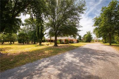 Sayre Single Family Home For Sale: 18294 E 1180 Road