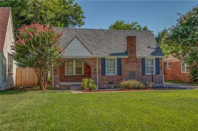 Oklahoma City Single Family Home For Sale: 3204 NW 22nd Street