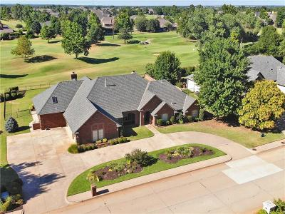 Edmond Single Family Home For Sale: 421 Country Club Drive