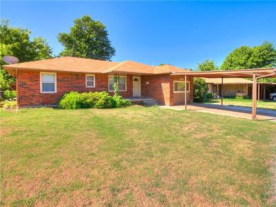 Midwest City Single Family Home For Sale: 316 W Coe Drive