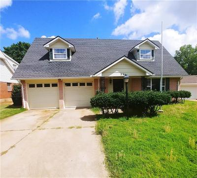 Midwest City Single Family Home For Sale: 221 Randall Drive