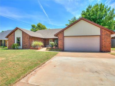 Edmond Single Family Home For Sale: 14120 Chickasaw Drive