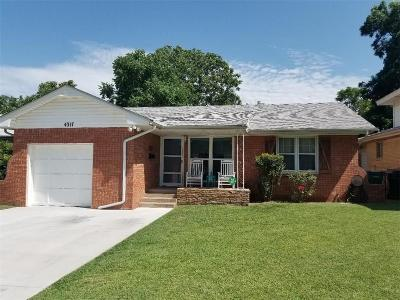 Oklahoma City Single Family Home For Sale: 4317 NW 13th Street