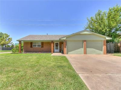 Edmond Single Family Home For Sale: 2517 Elwood Drive