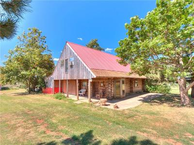 Blanchard OK Single Family Home For Sale: $90,000