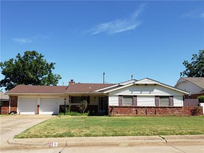 Midwest City Single Family Home For Sale: 405 W Silver Meadow Drive
