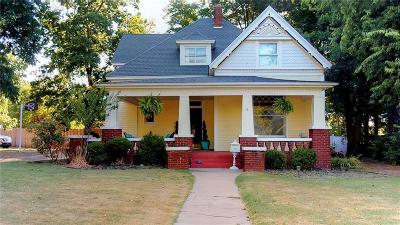 Chickasha Single Family Home For Sale: 1228 S 8th Street