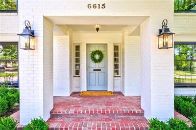 Nichols Hills Single Family Home For Sale: 6615 Hillcrest Avenue