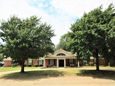 Weatherford Single Family Home For Sale: 1205 N Terrace Drive