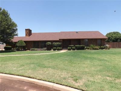 Altus OK Single Family Home For Sale: $258,900