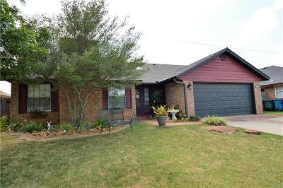 Edmond Single Family Home For Sale: 1625 Raquel Road