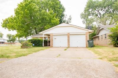 Del City Single Family Home For Sale: 3328 Chetwood Drive